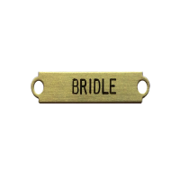 Bridle-name-plate