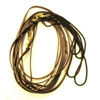 T7-12 Leather Long Line with Rope 25 ft