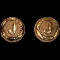 T9-33 Brass Hub Caps